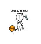 にゃん♡バスケ(個別スタンプ:10)