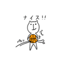 にゃん♡バスケ(個別スタンプ:11)
