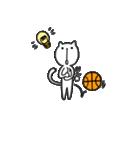 にゃん♡バスケ(個別スタンプ:21)