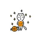 にゃん♡バスケ(個別スタンプ:27)