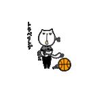 にゃん♡バスケ(個別スタンプ:34)