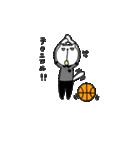 にゃん♡バスケ(個別スタンプ:35)