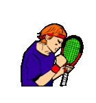 テニス好き専用スタンプ(個別スタンプ:24)
