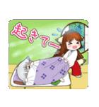 雪狐と遼狐(2)(個別スタンプ:02)
