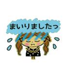 可愛い!ガールズ☆トーク(個別スタンプ:09)