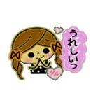 可愛い!ガールズ☆トーク(個別スタンプ:10)