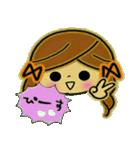 可愛い!ガールズ☆トーク(個別スタンプ:12)