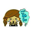 可愛い!ガールズ☆トーク(個別スタンプ:15)