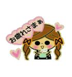 可愛い!ガールズ☆トーク(個別スタンプ:22)