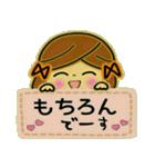 可愛い!ガールズ☆トーク(個別スタンプ:35)