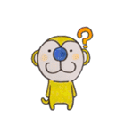 さるmon~気持ち編~(個別スタンプ:01)