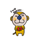さるmon~気持ち編~(個別スタンプ:40)