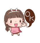 Miss. Ok.(個別スタンプ:01)