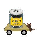 【びんねこ】黒猫バージョン(個別スタンプ:36)