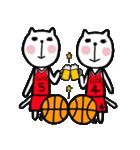 にゃん♡バスケ2(個別スタンプ:22)