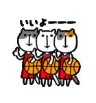 にゃん♡バスケ2(個別スタンプ:27)