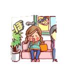 ハッピー妊婦さんライフ~妊娠から出産まで~(個別スタンプ:09)