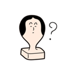お餅の餅田海苔子と申します。(個別スタンプ:07)