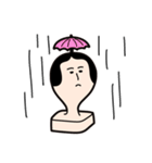 お餅の餅田海苔子と申します。(個別スタンプ:39)