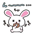 なかよしトーク 動く!うさぎのモフィPart2(個別スタンプ:22)