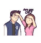 You & I(個別スタンプ:34)