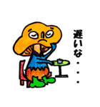 かわぃぃきのこ達(個別スタンプ:18)