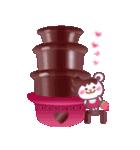 チョコくま☆バレンタインLOVEスペシャル(個別スタンプ:06)