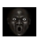 暗闇の黒人(個別スタンプ:33)