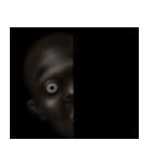 暗闇の黒人(個別スタンプ:40)