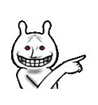 お、彼がチョコレート好きなウサギか(個別スタンプ:07)