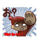 広島弁・英語翻訳①【ツッコミ会話】(個別スタンプ:16)