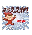 広島弁・英語翻訳①【ツッコミ会話】(個別スタンプ:25)