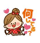 かわいい主婦の1日【ラブラブ編】(個別スタンプ:22)