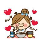 かわいい主婦の1日【ラブラブ編】(個別スタンプ:33)