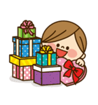 かわいい主婦の1日【ラブラブ編】(個別スタンプ:36)