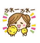 ゆるカジ女子♥5【らぶりーモード♥】(個別スタンプ:11)