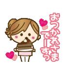 ゆるカジ女子♥5【らぶりーモード♥】(個別スタンプ:14)