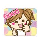 ゆるカジ女子♥5【らぶりーモード♥】(個別スタンプ:21)