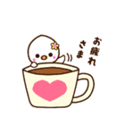 ヒナちゃん&ムクちゃん(個別スタンプ:06)