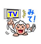 トイカプセル・モンキーズ「TV」編(個別スタンプ:01)