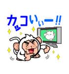 トイカプセル・モンキーズ「TV」編(個別スタンプ:04)
