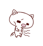 かわいい豚のぶた丸ちゃん(個別スタンプ:35)