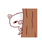 かわいい豚のぶた丸ちゃん(個別スタンプ:37)