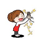 スポーツ応援ママ☆2(個別スタンプ:18)