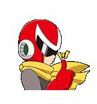 のんびりロックマンの動くスタンプ(個別スタンプ:04)