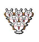 無限増殖中の月から来たウサギ with ブタ(個別スタンプ:02)