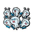 無限増殖中の月から来たウサギ with ブタ(個別スタンプ:16)