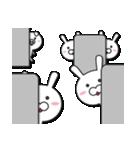 無限増殖中の月から来たウサギ with ブタ(個別スタンプ:20)