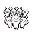 無限増殖中の月から来たウサギ with ブタ(個別スタンプ:26)