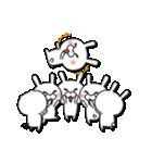 無限増殖中の月から来たウサギ with ブタ(個別スタンプ:29)